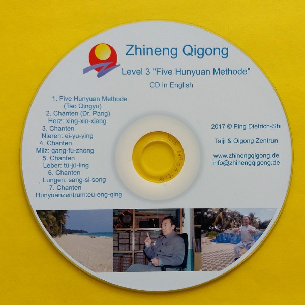 MP3-CD Stufe 3 (English), Tao Qingyu, Chanten mit Dr. Pang
