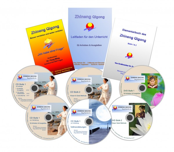 Sparpaket: Zhineng Qigong Lehrmaterial (9 Produkte)