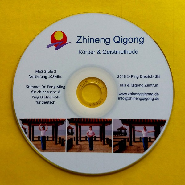 MP3-CD Stufe 2 (Vertiefung) mit Dr. Pang und Ping Dietrich-Shi